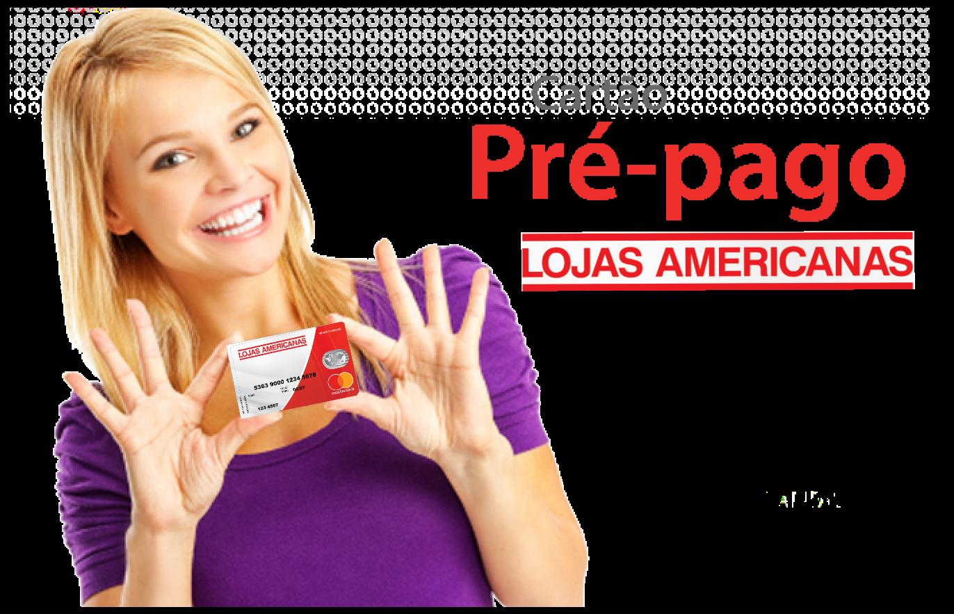 f57e60a95 Cartão Pré-pago Americanas